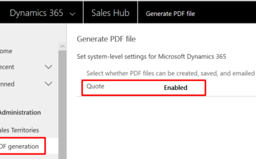 Enable generate PDF feature