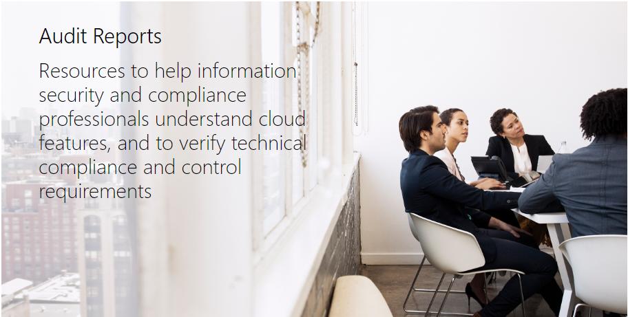 Microsoft Audit Reports