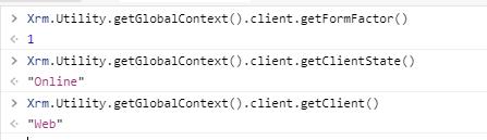 Console response context.client