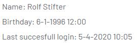 Automatic DateTime format